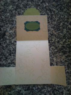 Dutch Fold Card Inside