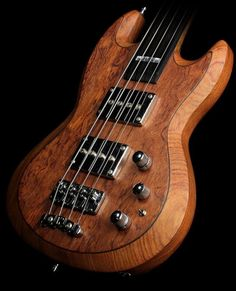 2005 Warwick Jack Bruce Reunion 4 String Fretless Electric Bass Guitar Natural