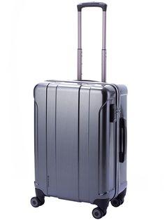 Twin Medium Suitcase Grey