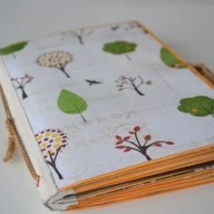 scrap book made from envelopes