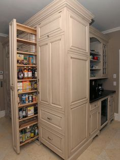 Best idea ever for pantries!  Kitchen Design, Pictures, Remodel, Decor and Ideas - page 14