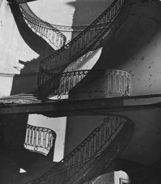 by Bill Brandt Bombed Regency Staircase, Upper Brook Street, Mayfair, London. Man Ray, Bill Brandt Photography, High Contrast Images, Brassai, Night Pictures, Foto Art, Museum Of Modern Art, Light And Shadow, Picture Show