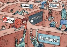 using social media alot might cause trubles to your life
