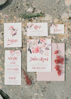romantic wedding hair Romantic wedding inspiration in Corfu - Unique Wedding Invitations, Wedding Stationary, Wedding Themes, Wedding Tips, Wedding Planning, Hair Wedding, Invites, Bridal Hair, Dream Wedding
