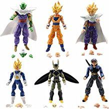 Action & Toy Figures Search For Flights 6pcs Dragon Ball Burdock Super Saiyan 4 Vegeta Gotenks Action Figure Toy Doll Brinquedos Figurals Collection Dbz Model G Sophisticated Technologies