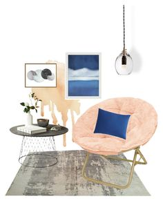 """Relaxing Corner"" by eymilia on Polyvore featuring interior, interiors, interior design, home, home decor, interior decorating, Pottery Barn, Sonia Rykiel and Art Addiction"