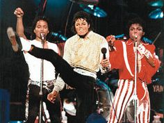 Michael would have been good at ballet. Look how high he kicks!