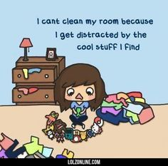 The Reason I Cant Clean My Room#funny #lol #lolzonline