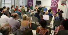 MOTRIL.El pasado sábado, Podemos Motril organizó un acto para debatir sobre la reforma de la PAC (Política Agraria Común) que contó con la presencia de Diego Cañamero y