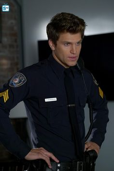 I was sooooo surprised when Toby became a cop! But he is still BAE! ~Hallie