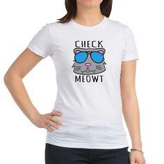 Jr. Jersey T-Shirt  #cats #puns #funny #humor #cute #shirts #fashion, #juniors