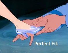 If the shoe fits... #Cinderella