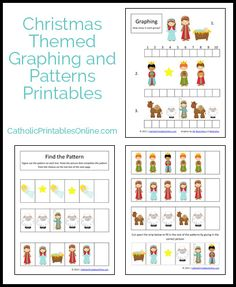 Christmas math printables set - FREE download (no opt in required)