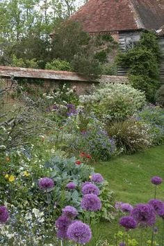 Great Dixter, East Sussex, the garden of Christopher Lloyd
