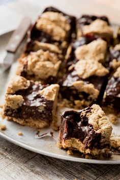 Desserts - K pour Katrine Gluten Free Treats, Vegan Treats, Fudge, Desserts With Biscuits, Greens Recipe, Cold Meals, Everyday Food, Chocolate Desserts, Sweet Recipes