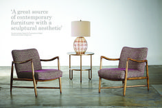 New Julian Chichester arm chairs High Point Highlights Spring 2014 Sophia Shibles Interior Design
