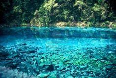 Blue Lake in der Jiuzhaigou National Park