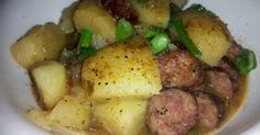 How to prepare recipe for Smothered Smoked Sausage and Potatoes! Learn how to make and how to cook this easy and delicious recipe posted by dazednene Quick, easy and oh so delicious!