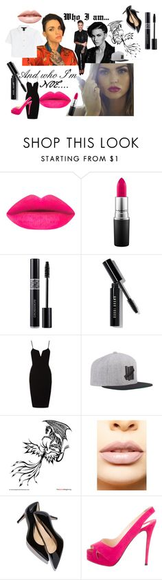"""Who I am VS who I'm not"" by ali-tomlinson21 on Polyvore featuring MAC Cosmetics, Christian Dior, Bobbi Brown Cosmetics, LASplash, Christian Louboutin, Marc by Marc Jacobs, women's clothing, women, female and woman"