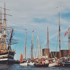 Kulturhavn means culture harbor and Ofelia Plads was the perfect place to procure it. Tall ships, cool water and good company. Skål!