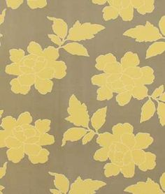Robert Allen @ Home  New Peony Canary Taupe