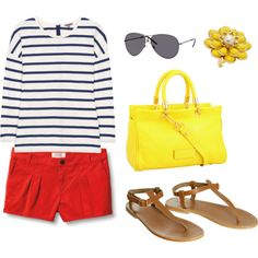 Summer time, created by dianna-didomenico.polyvore.com
