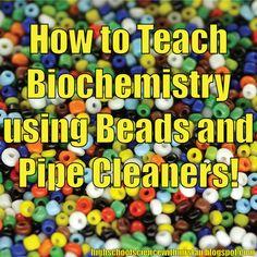 Innovative approaching to teaching a biochemistry unit in high school.