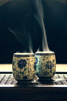 Tasse de #Thé Fumante