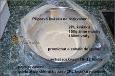 Návod na pečení chleba Russian Recipes, Pie Dish, Bread, Dishes, Blog, Polish, Vitreous Enamel, Brot, Tablewares