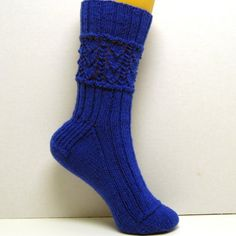 PDF Knitting Pattern BLUE BELL Sock Pattern by thejewellshandmades, $4.50    jewlbal3.etsy.com