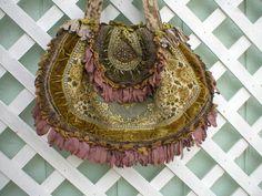 Stunning Magnolia Pearl Carpetbag Handbag Purse Vintage Fabrics & Trims #MagnoliaPearl
