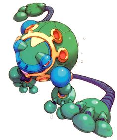 Burble Hekelot from Mega Man Zero 2