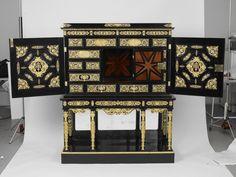 Explore the Royal Collection Online Palace Interior, The Royal Collection, Buckingham Palace, Buffet, Cabinets, Decorative Boxes, Antiques, Frame, Queen Elizabeth