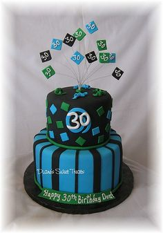 30th birthday cake  Check out a few more tips for 30th bithday invtitation ideas at http://30thbirthdayinvitations.net/30th-birthday-invitations-for-him/.