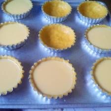 Setio Hazzle: RESEP PIE SUSU Resep Cake, Egg Tart, Bread Cake, Cake Recipes, Recipies, Muffin, Food And Drink, Eggs, Snacks