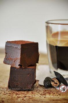 Rum and Tonka Bean Dark Chocolate Truffles