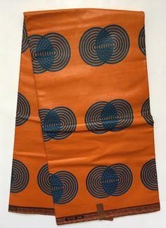 House of Mami Wata African Print Fabrics https://www.etsy.com/listing/520362644/african-print-fabric-ankara-orange-blue