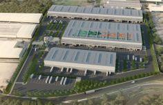 Warehouse Layout, Warehouse Design, Factory Architecture, Industrial Architecture, Factory Design, Steel Structure, Factories, City Art, Building Design