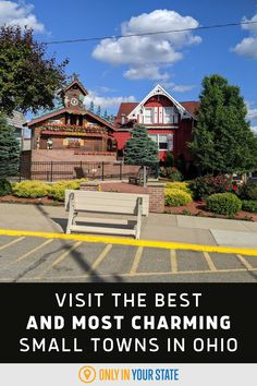 If you're looking for great day trip or weekend getaway ideas, check out this list of the most charming small towns in Ohio. Castle Noel, Beautiful Body, Beautiful Places, Places To Travel, Places To Go, Erie Beach, Best Bucket List, The Buckeye State