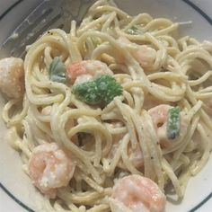 """Shrimp Alfredo Pasta   """"This is an easy and great recipe. My family loved… - #Food #foodhealthy"""