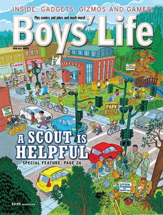 Magazines: Boy's Life, Outside or Backpacker $5/yr