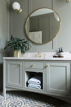 The English Tapware Company Modern Bathroom Tile, Fitted Bathroom, Classic Bathroom, Guest Bathrooms, Bathroom Interior Design, Master Bathroom, Small Bathroom, Bathroom Ideas, Modern Country Bathrooms