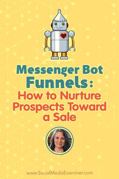 Learn how Messenger bot funnels improve upon email marketing, and discover tips for interactions and lead magnets that move people through a bot funnel. via Social Media Examiner Facebook Marketing Strategy, Inbound Marketing, Marketing Digital, Business Marketing, Email Marketing, Content Marketing, Social Media Marketing, Mobile Marketing, Marketing Ideas