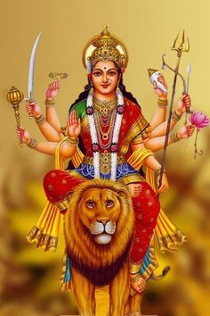 Navratri Puja will help you overcome all your negativities. Flourish with wealth on this Navratri by offering Homam to Lakshmi, Saraswathi & Durga. Durga Picture, Maa Durga Photo, Maa Durga Image, Lord Durga, Durga Ji, Navratri Puja, Happy Navratri, Durga Images, Lord Shiva Hd Images