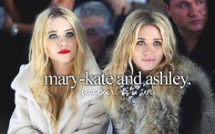 mary-kate and ashley #justgirlythings