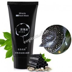 Black sheet mask
