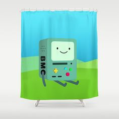 Beemo Shower Curtain