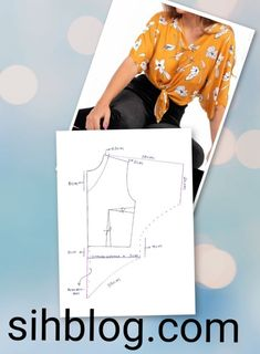 I love this amazing photo Baby Dress Patterns, Easy Sewing Patterns, Blouse Patterns, Clothing Patterns, Handmade Clothes, Diy Clothes, Costura Fashion, Sewing Blouses, Le Polo
