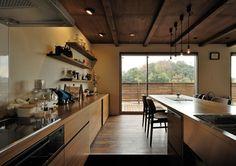 ウッドデッキのある家・間取り(神奈川県横浜市)  高級住宅・豪邸   注文住宅なら建築設計事務所 フリーダムアーキテクツデザイン