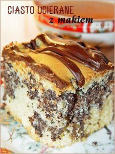 Polish Desserts, Polish Recipes, Poppy Seed Cake, Tiramisu, Banana Bread, Ale, Cooking Recipes, Tasty, Baking